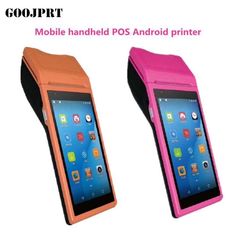 Free SDK Android Mobile Pos Thermal Printer Handheld POS