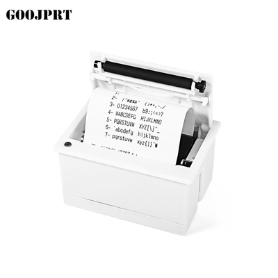 Mini Thermal Printer GOOJPRT QR204 58mm Super Mini Embedded Receipt Printer RS232 / TTL + USB Panel Printers