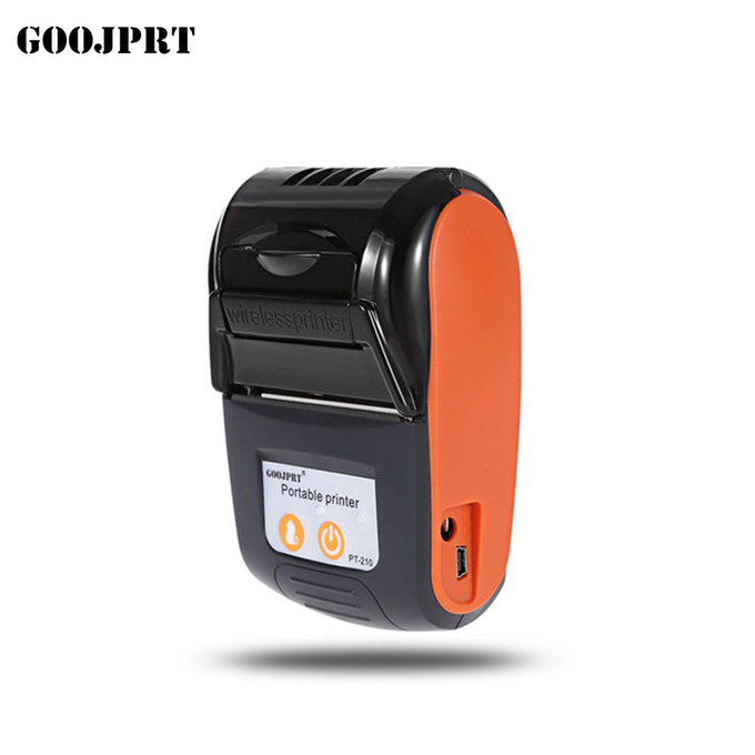 58mm portable handheld printer bluetooth with rechargeable battery
