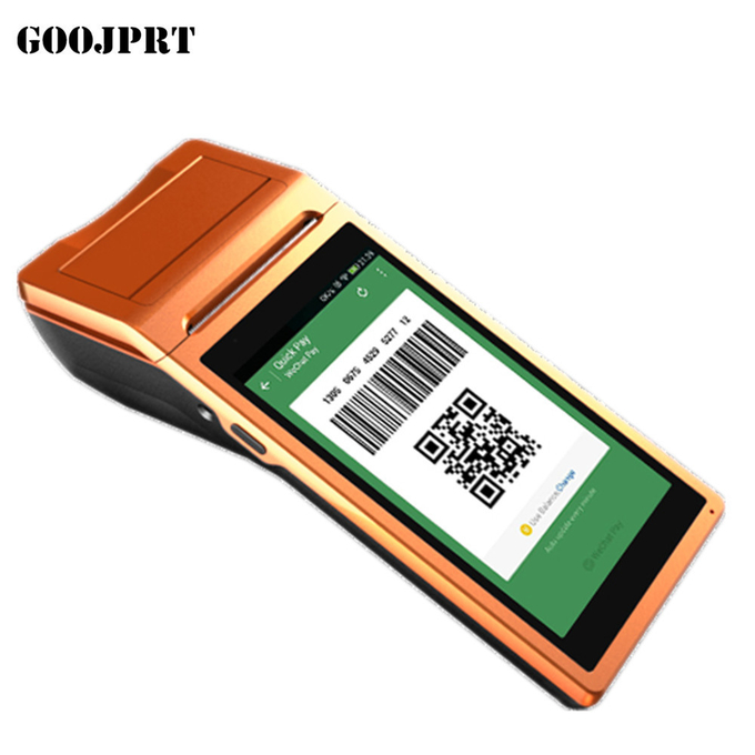 Free SDK Android Mobile Pos Thermal Printer Handheld POS Terminal Wireless Bluetooth barcode Scanner Wifi Android PDA