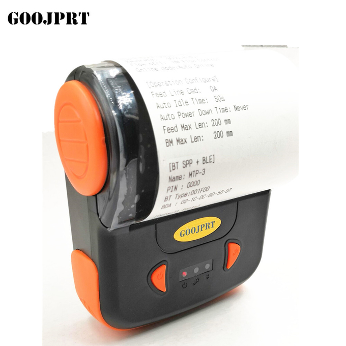 80MM Bluetooth Thermal Printer Portable Receipt Machine Support ESC / POS Multi-Language For Windows Android IOS